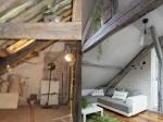 Schátralé francúzske podkrovie premenili na ideálne bývanie. Neuveríte, že je to ten istý priestor!